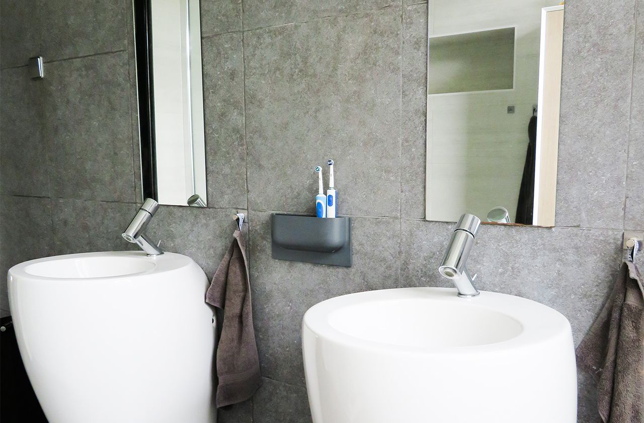Kleine Praktische Badkamer : Fam. bastiaans